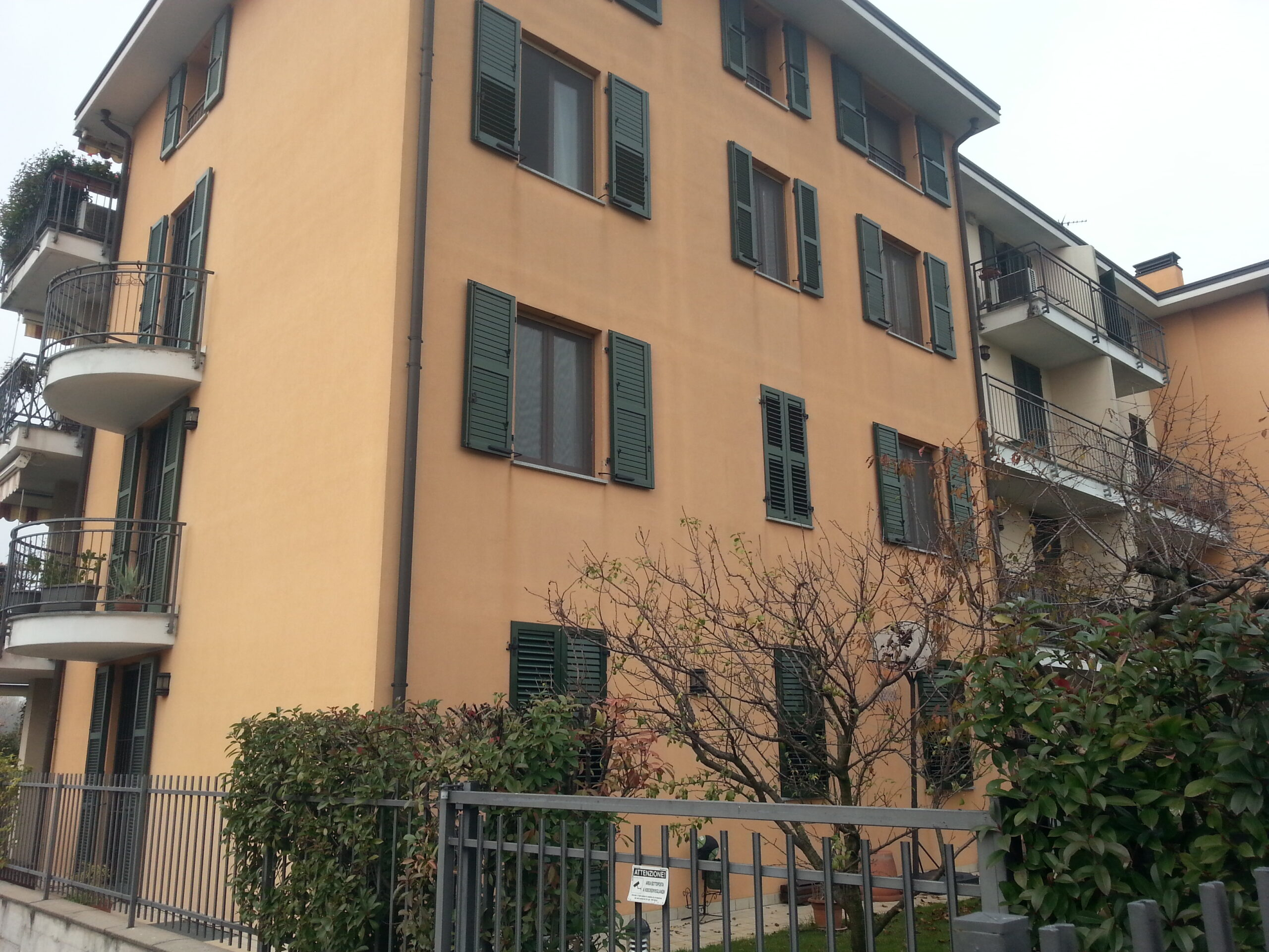 Vendita tre locali con giardino a Cernusco sul Naviglio